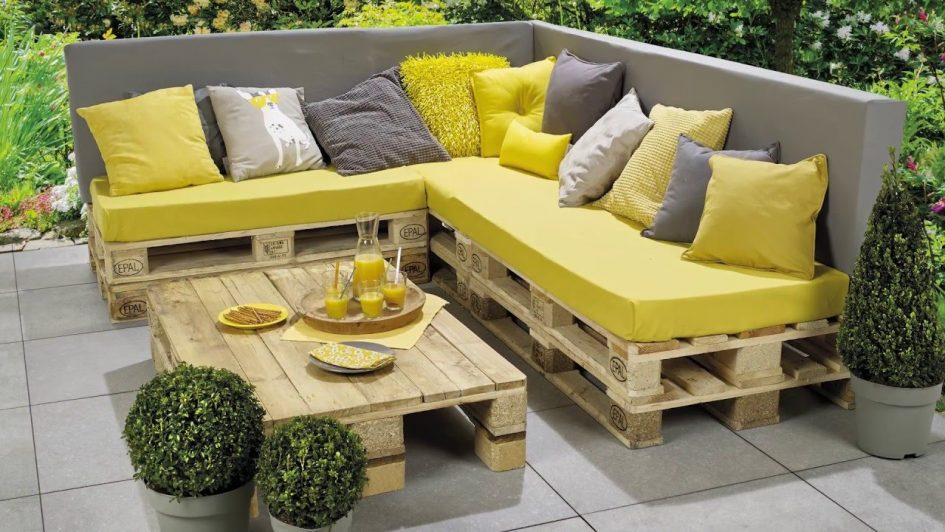 Comment fabriquer salon de jardin palette - Jardin piscine et Cabane