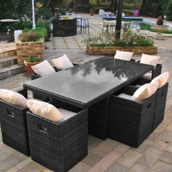 Salon de jardin alu truffaut - Jardin piscine et Cabane