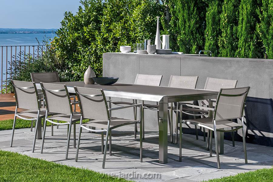 Beautiful Salon De Jardin Avec Table A Rallonge Photos - House ...