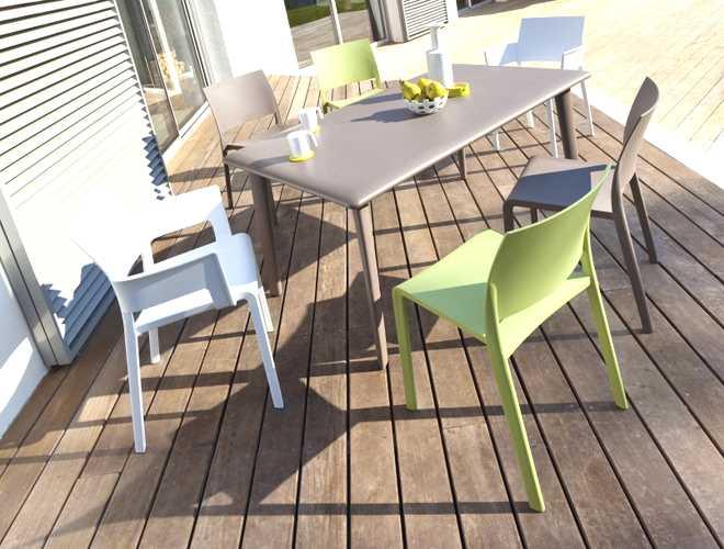 chaise salon de jardin mr bricolage jardin piscine et cabane. Black Bedroom Furniture Sets. Home Design Ideas