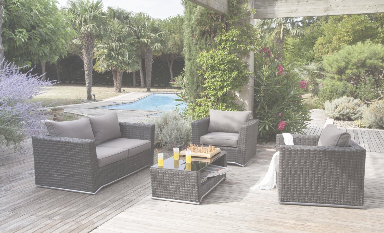 Salon de jardin en resine hubo - Jardin piscine et Cabane