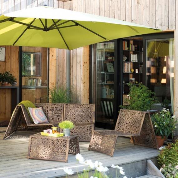 Salon de jardin botanic - Jardin piscine et Cabane