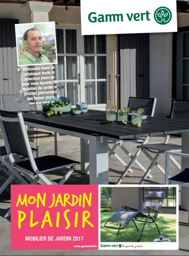 gamm vert catalogue salon de jardin jardin piscine et cabane. Black Bedroom Furniture Sets. Home Design Ideas