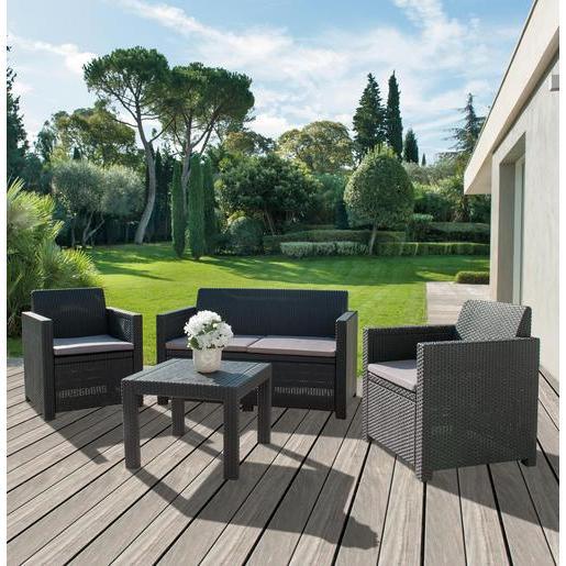salon de jardin pliable la foir 39 fouille jardin piscine. Black Bedroom Furniture Sets. Home Design Ideas