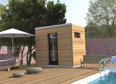 cabane de jardin design pas cher jardin piscine et cabane. Black Bedroom Furniture Sets. Home Design Ideas