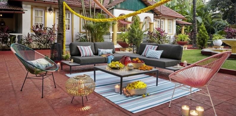 Salon de jardin rotin maison du monde - Jardin piscine et Cabane