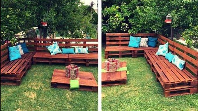 Comment salon de jardin en palette