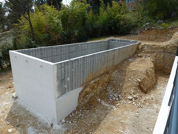 Comment Construire Piscine Beton Hors Sol Jardin Piscine Et Cabane