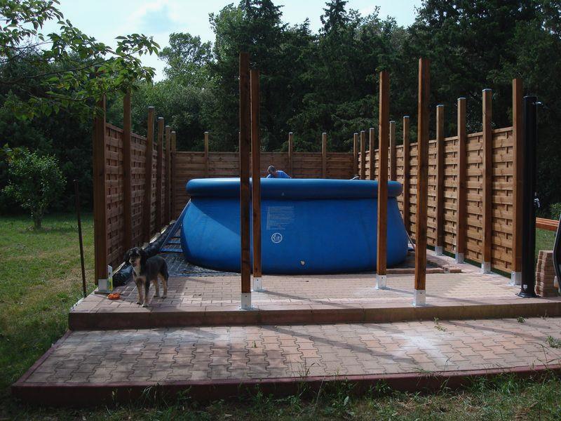 Construire Piscine En Bois Soi Meme Jardin Piscine Et Cabane - Construire une piscine en bois sois meme