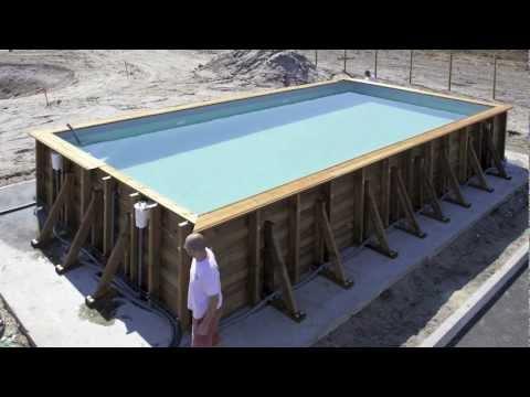 Construire sa piscine hors sol en parpaing jardin piscine et cabane - Piscine hors sol bricomarche ...