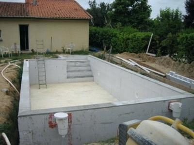 Construire une piscine soi meme jardin piscine et cabane - Fabriquer une piscine en bois ...