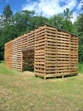 Comment construire une cabane en palette de bois