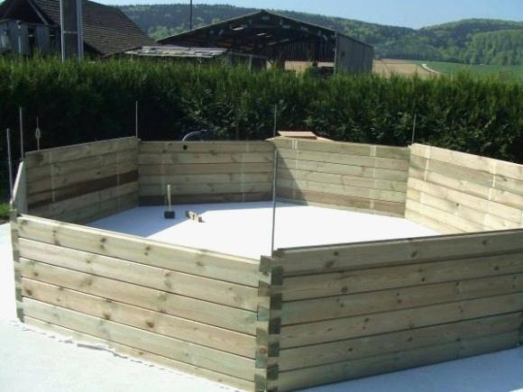 construire sa piscine bois soi meme jardin piscine et cabane. Black Bedroom Furniture Sets. Home Design Ideas
