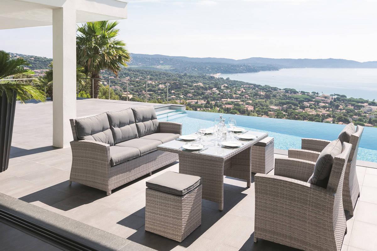 salon de jardin promo amazon jardin piscine et cabane. Black Bedroom Furniture Sets. Home Design Ideas