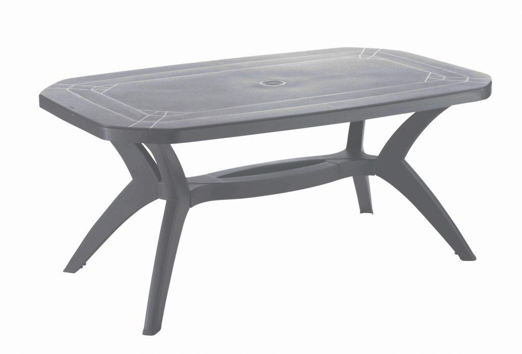 Table salon de jardin moderne jardin piscine et cabane - Table de jardin moderne ...