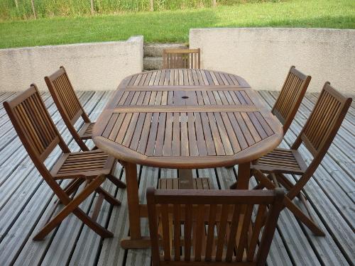 Quelle peinture pour salon de jardin en bois jardin piscine et cabane - Peinture pour salon de jardin ...