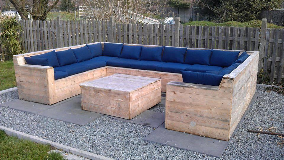 Comment fabriquer son salon de jardin en palette - Jardin piscine et ...