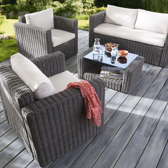 salon de jardin california allibert castorama jardin. Black Bedroom Furniture Sets. Home Design Ideas