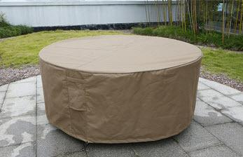 housse pour salon de jardin rond jardin piscine et cabane. Black Bedroom Furniture Sets. Home Design Ideas