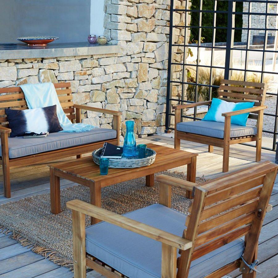 Salon de jardin la redoute soldes - Jardin piscine et Cabane