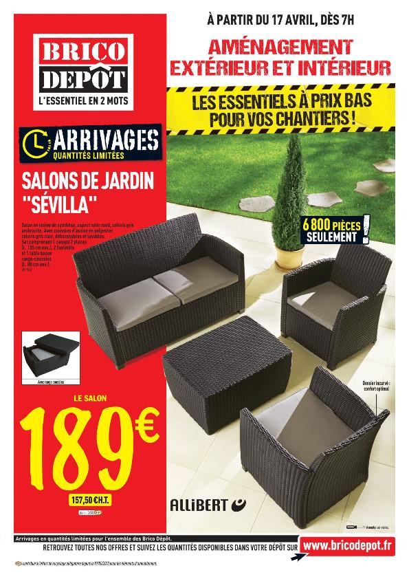 avis salon de jardin hawai brico depot jardin piscine et. Black Bedroom Furniture Sets. Home Design Ideas