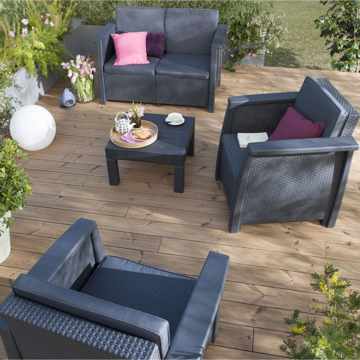table de salon de jardin le bon coin jardin piscine et. Black Bedroom Furniture Sets. Home Design Ideas