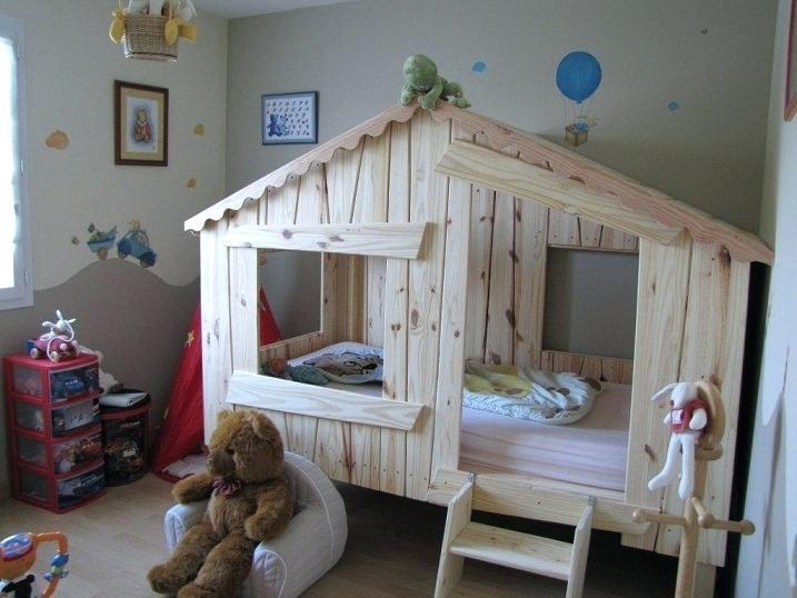 cabane lit palette jardin piscine et cabane. Black Bedroom Furniture Sets. Home Design Ideas