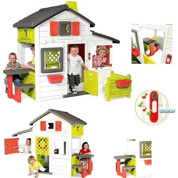 cabane smoby pas cher jardin piscine et cabane. Black Bedroom Furniture Sets. Home Design Ideas