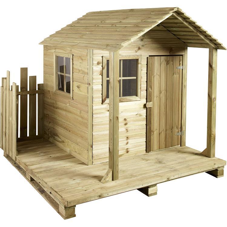Cabane en bois sur pilotis louis cerland