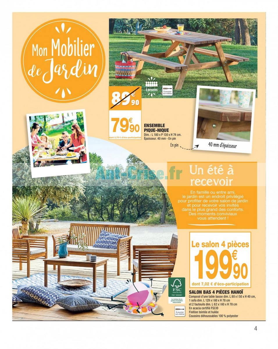 Salon de jardin carrefour contact - Jardin piscine et Cabane