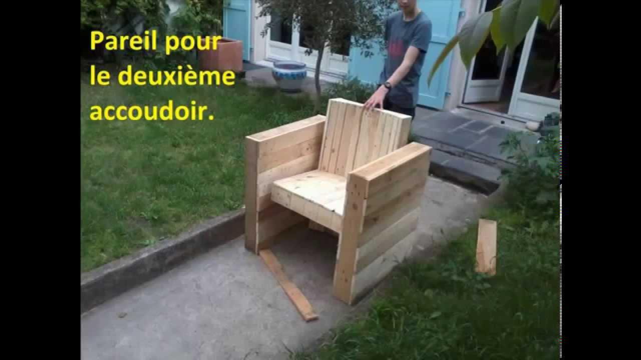 Construire salon de jardin palette - Jardin piscine et Cabane