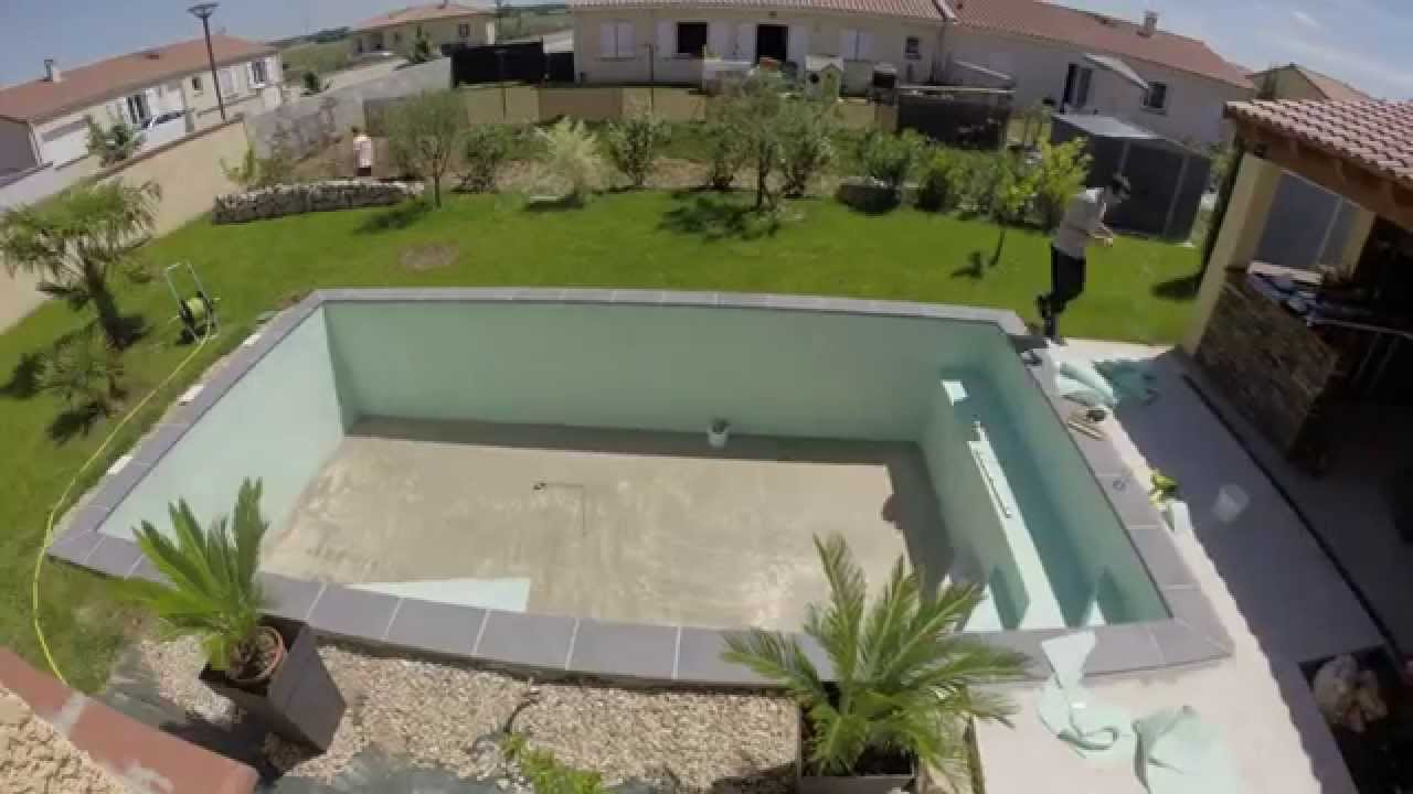 Construction piscine youtube