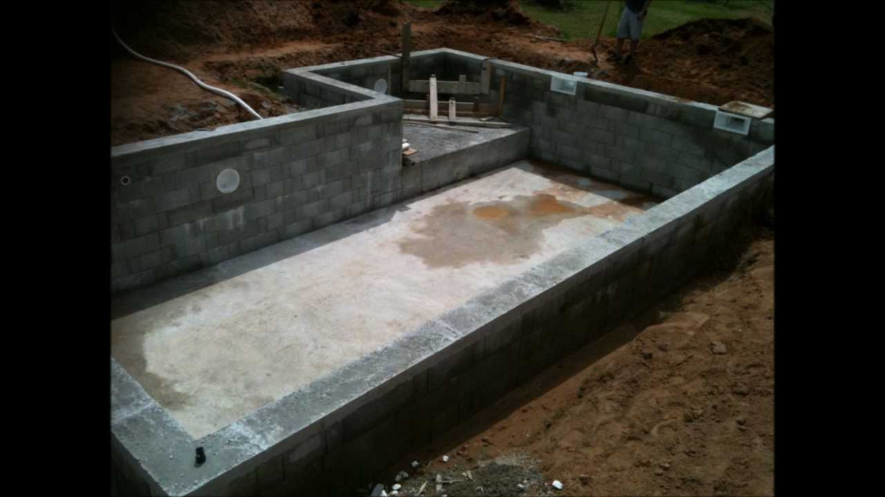 Construire sa piscine en dur jardin piscine et cabane - Piscine en dur pas cher ...