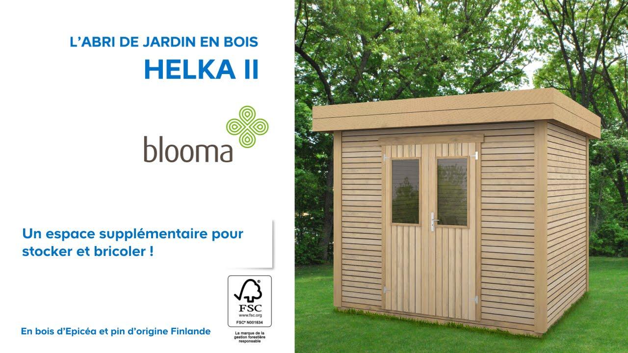 Cabane de jardin blooma