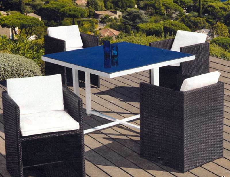 Salon de jardin osier leclerc - Jardin piscine et Cabane