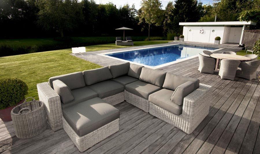 Salon de jardin haut de gamme - Jardin piscine et Cabane