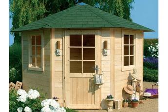 Cabane de jardin ronde