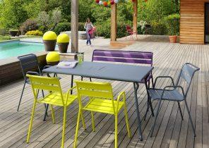 Salon de jardin marocain moderne - Jardin piscine et Cabane