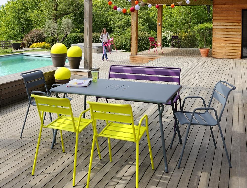 Camif salon de jardin fermob - Jardin piscine et Cabane