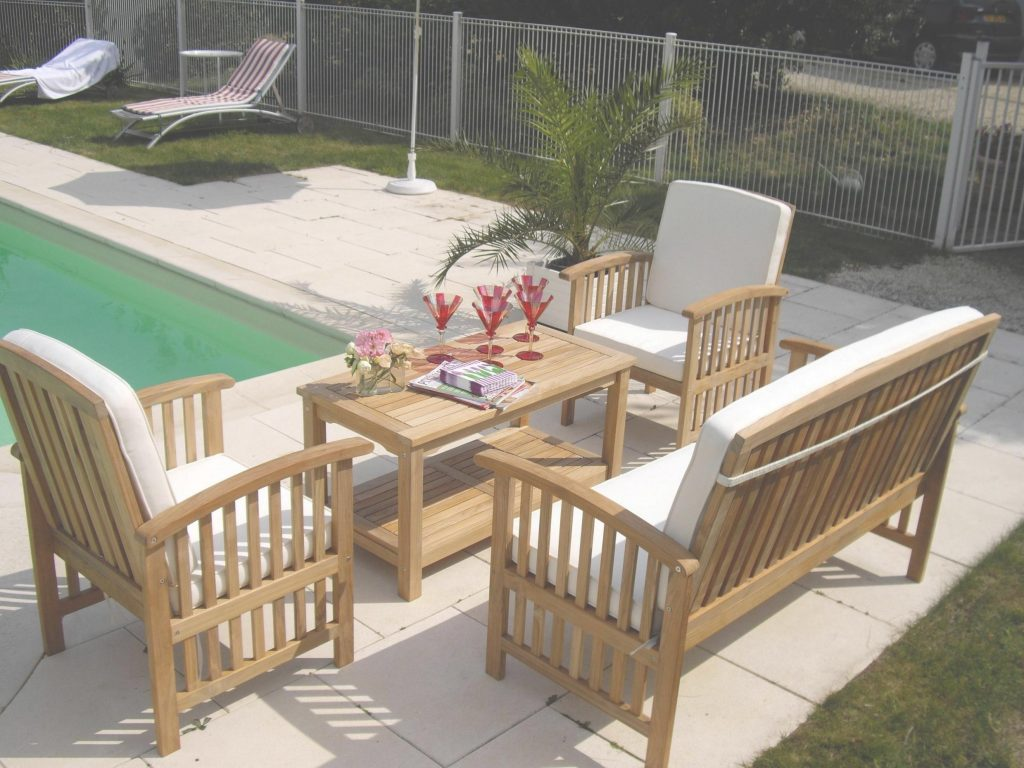 Mobilier de jardin haut de gamme teck - Jardin piscine et Cabane