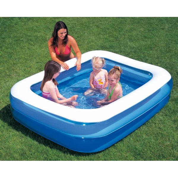 Petite piscine gonflable rectangulaire pas cher - Jardin piscine et ...