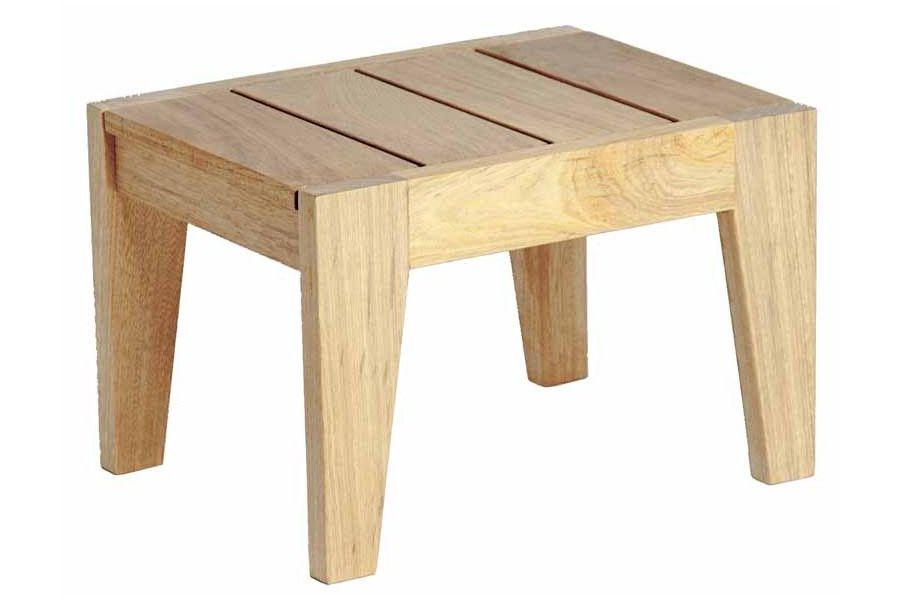Petite table basse salon de jardin