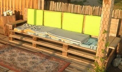 Comment realiser un salon de jardin en palette - Jardin piscine et ...