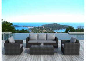 Salon de jardin pvc design - Jardin piscine et Cabane