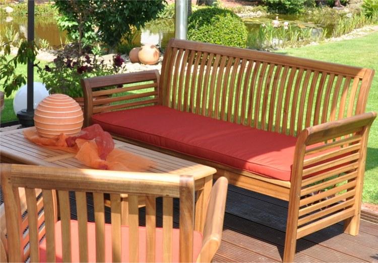 Salon de jardin teck solde - Jardin piscine et Cabane