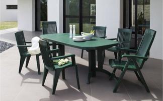 Table de jardin et chaise pas cher - Jardin piscine et Cabane