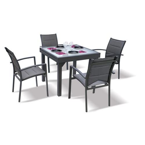 Salon de jardin pas cher table et chaise jardin piscine et cabane - Tables et chaises de jardin pas cher ...