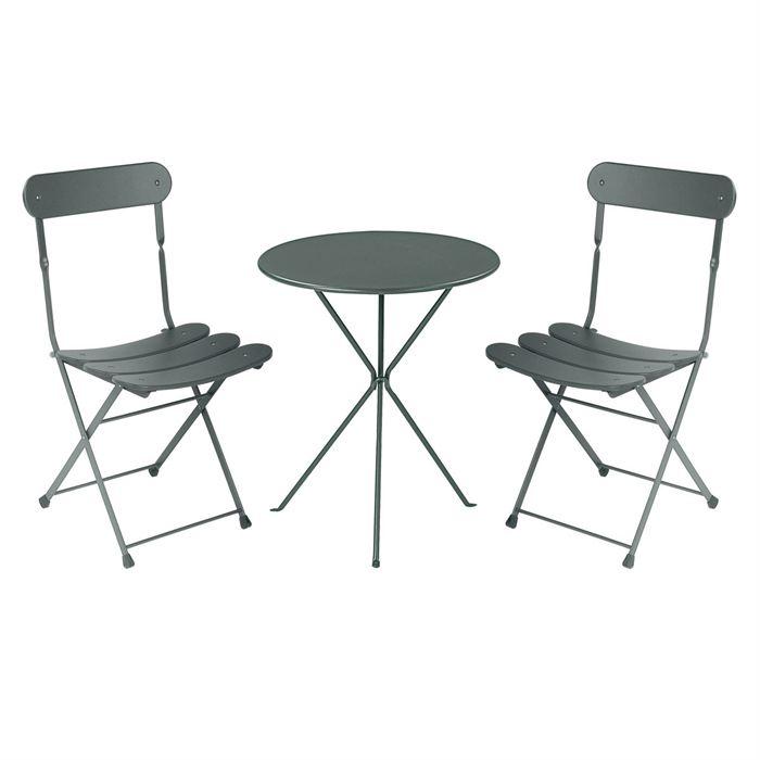 Chaise et table de jardin pas cher - Jardin piscine et Cabane