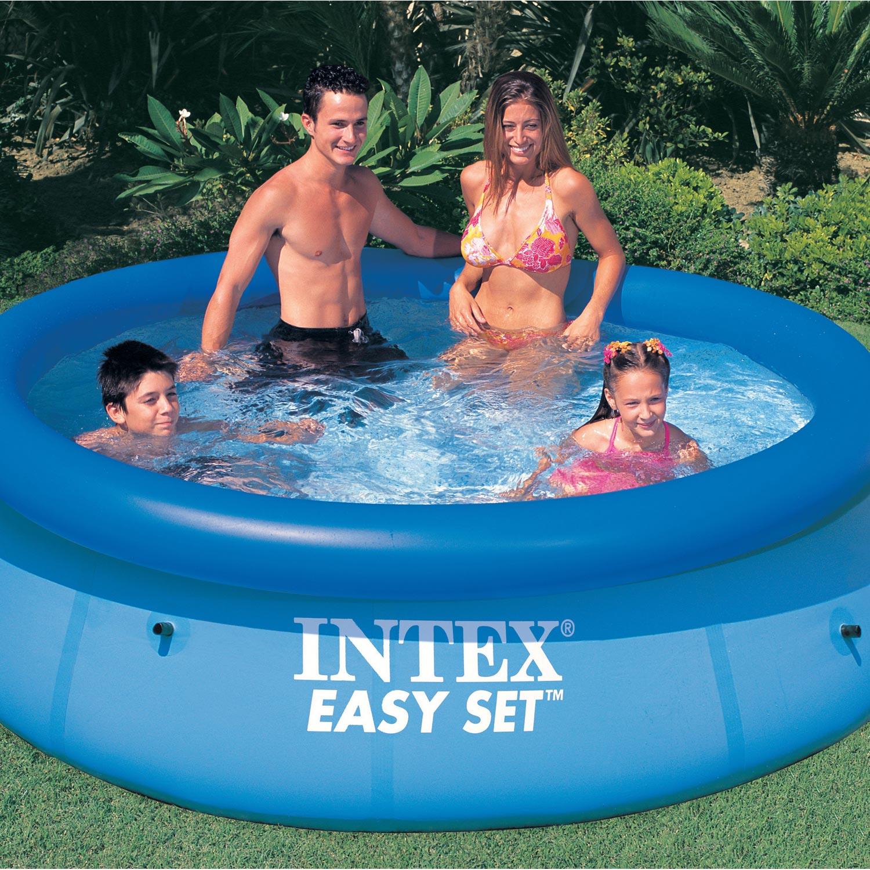 Piscine gonflable intex leroy merlin jardin piscine et cabane - Piscine autoportee intex leclerc ...