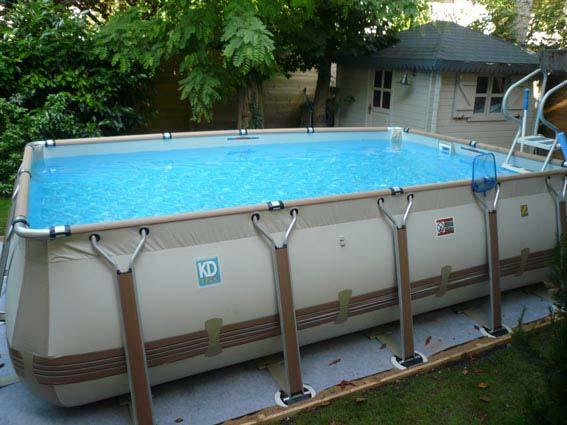 Piscine gonflable adulte zodiac jardin piscine et cabane - Comment faire une piscine pas cher ...